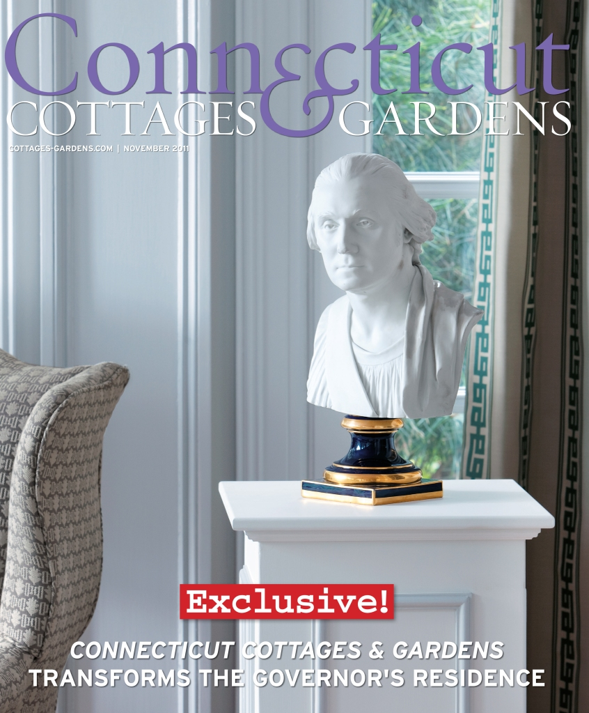 The People's Project design showhouse is featured on the cover of Connecticut Cottages & Gardens