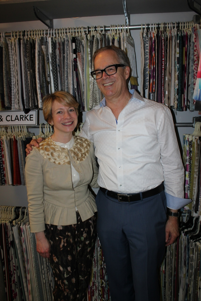 Christine Haney of Farrow & Ball, George Snead of Wakefield Design Center