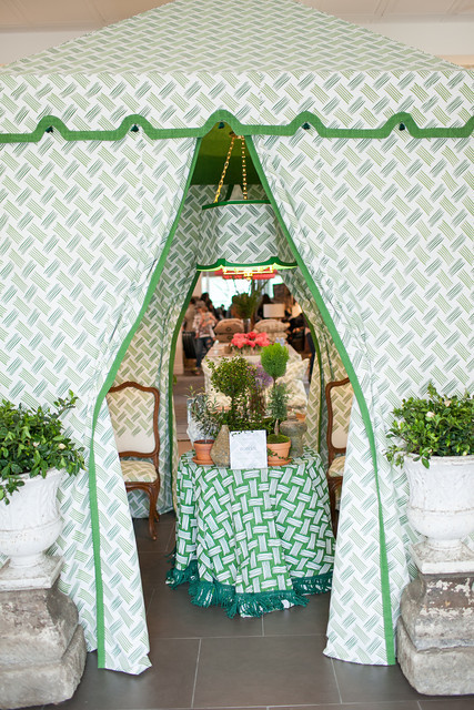 Designer Amy Meier's Tent was a show-stopper at Hollywood at Home