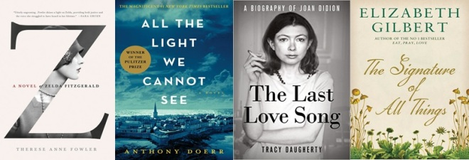 Summer reading lists included a Pulitzer Prize winner and a new biography of Joan Didion.
