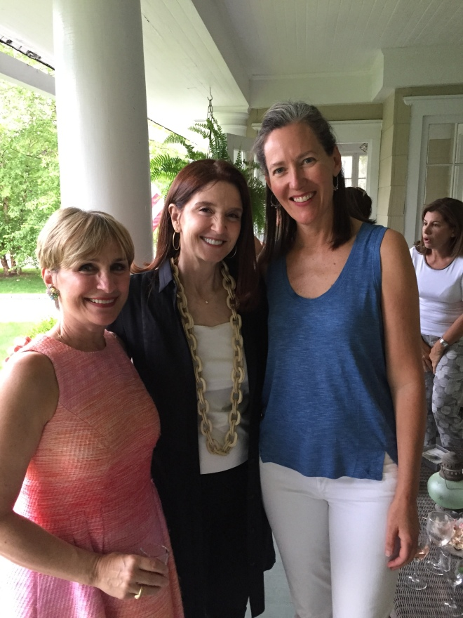 Carey Karlan, Stacey Bewkes and KC Williams enjoyed the summer afternoon with Images & Details.
