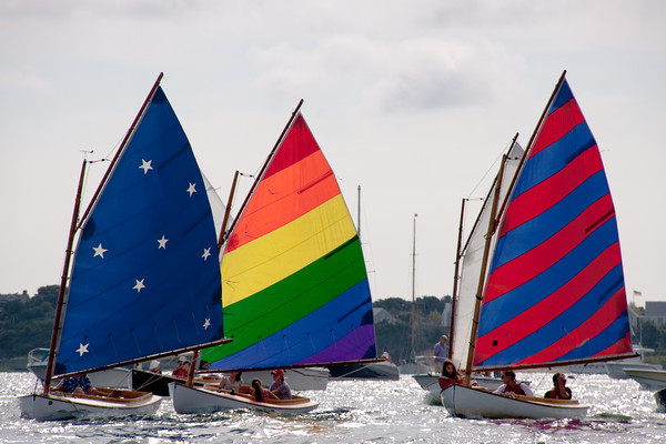 Sailing is a big part of the New England summer.